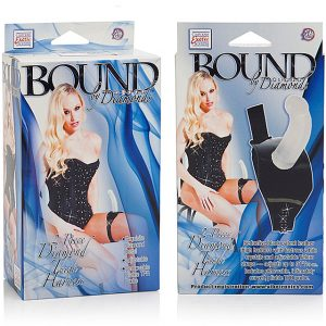 California Exotic Bound by Diamonds™ – 2-Piece Diamond Thigh Harness™