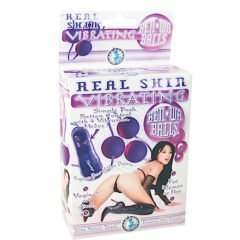 Nasstoys Real Skin Vibrationg Ben-Wa Balls-Purple
