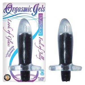 Nasstoys Orgasmic Gels ButtPlug – Black