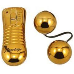 Nasstoys Vibrating Ben Wa Balls – Gold