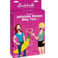 Pipedream Bachelorette 26 inch The Original Inflatable Banana Ring Toss