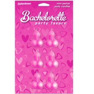 Pipedream Bachelorette Party Favors Pecker Candles
