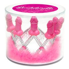 Pipedream Bachelorette Mini Pecker Party Tiara