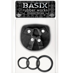 Pipedream Basix Rubber Works – Universal Harness PD4320-01