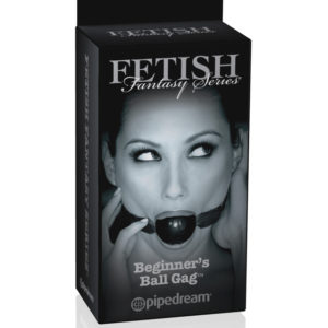 Pipedream Fetish Fantasy Series Limited Edition Beginner's Ball Gag PD4412-23 Black
