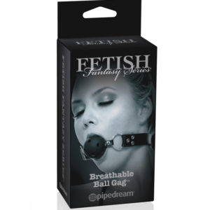 Pipedream Fetish Fantasy Series Limited Edition Breathable Ball Gag Black