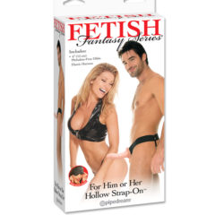Pipedream Fetish Fantasy Series For Him or Her Hollow Strap-On PD3366-21 Flesh