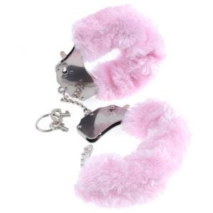 Pipedream Fetish Fantasy Series Original Pink Furry Cuffs