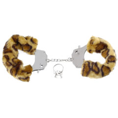 Pipedream Fetish Fantasy Series Original Furry Cuffs PD3804-39 Cheetah