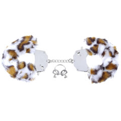 Pipedream Fetish Fantasy Series Original  Leopard Furry Cuffs
