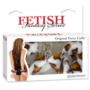 Pipedream Fetish Fantasy Series Original  Leopard Furry Cuffs