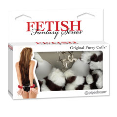 Pipedream Fetish Fantasy Series Original Furry Cuffs PD3804-41 Zebra