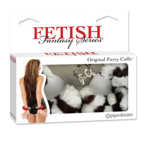 Pipedream Fetish Fantasy Series Original Furry Cuffs PD3804-41 Zebra
