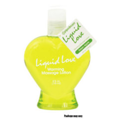 Pipedream Liquid Love Green Apple Warming Massage Lotion