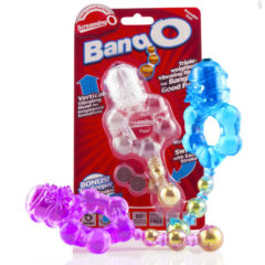 Screaming O Bang O Triple Weighted Vibrating Cock Ring