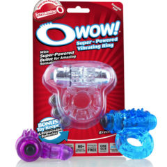 Screaming O O Wow! Super Powered Vibrating Cock Ring