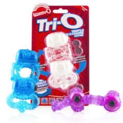 Screaming O Tri O Triple Pleasure Vibrating Cock Ring