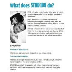 STUD 100 Male Genital Desensitizer Spray
