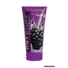 Topco Sales Hot Stuff® Warming Oil Blackberry 6 fl. oz. (177 ml) Tube