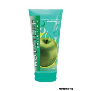 Topco Sales Hot Stuff® Warming Oil Green Apple 6 fl. oz. (177 mL) Tube