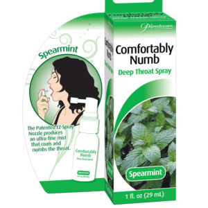 Pipedream Comfortably Numb Deep Throat Spray Spearmint Flavor