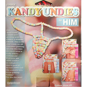 Pipedream Edible Kandy G-String Pouch For Him PD7423-02