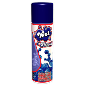 WET Flavored™ Gel Lubricant Wild Blueberry
