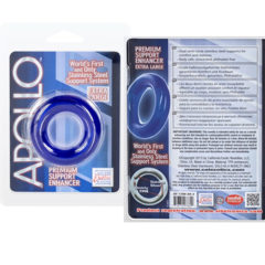 California Exotic Apollo Cock Ring Extra Large Premium Support Enhancer