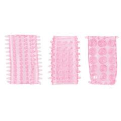 California Exotic Swedish Erotica Senso Rings Assortment Pink