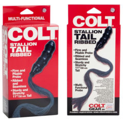 California Exotics Colt Stallion Tail Ribbed Whip & Butt Plug