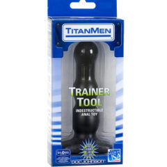 Doc Johnson Titan Men Tools Trainer Tool #3 Indestructable Anal Toy