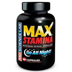 MD Science Lab Max Stamina® (30 Caps)
