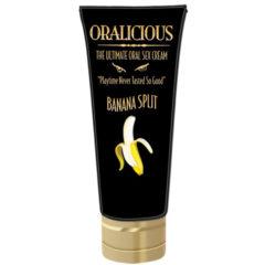 Oralicious The Ultimate Oral Sex Cream Banana Split