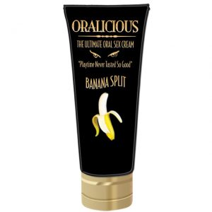 Oralicious The Ultimate Oral Sex Cream Banana Split
