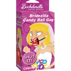 Pipedream Bachelorette Party Favors Bridezilla Ball Gag PD7439-00