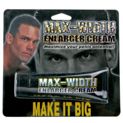 Pipedream Max Width Penis Maximize Enlarger Cream 1.5 oz