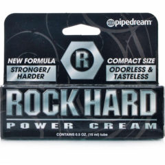 Pipedream Rock Hard Power Cream Penis Enlarger 0.5 oz