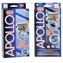 California Exotic Apollo 7-Function Premium Enhancers Vibrating Cock Ring