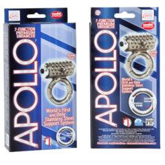 California Exotic Apollo 7-Function Premium Enhancers Vibrating Cock Ring