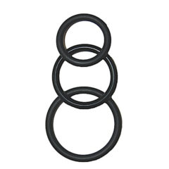 Nasstoys Super Silicone Cockrings 3 Sizes Waterproof