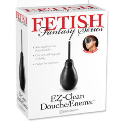 Pipedream Fetish Fantasy Series EZ Clean Douche Enema