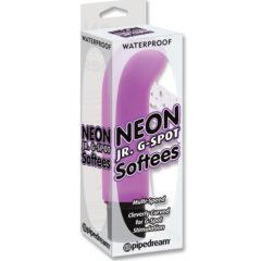 Pipedream Waterproof Neon Jr G-Spot Softees Vibrator Massager