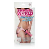 Shane's World® Pink Harness with Stud™ - Purple