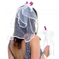 Pipedream Bachelorette Veil and Wand Set