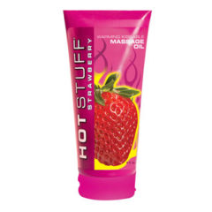 Topco Sales Hot Stuff® Warming Oil Strawberry 6 fl. oz. (177 ml) Tube