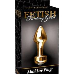 Pipedream Fetish Fantasy Gold Mini Luv Plug PD3986-27 Gold