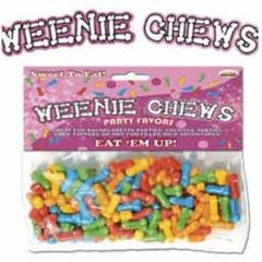Hott Products Weenie Chews Party Favors
