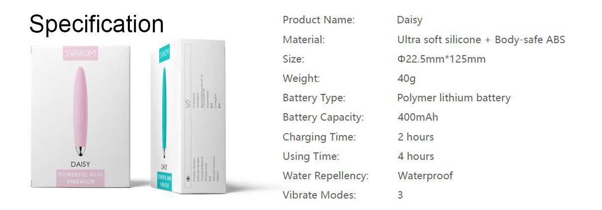 Svakom Daisy - Powerful Mini Vibrator