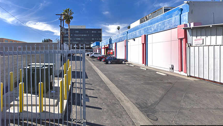 Adult Warehouse Outlet Panorama Rear Entrance