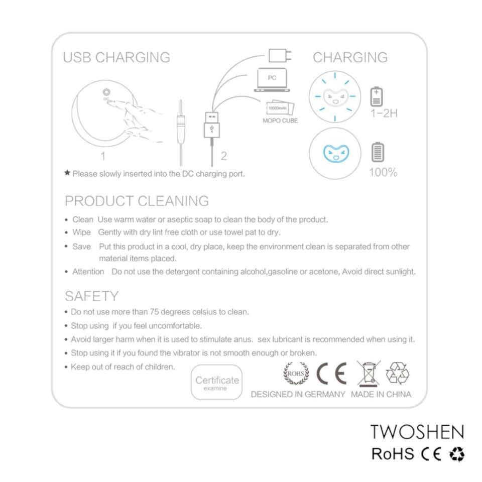 CRDC Clitoris & G Spot Vibrators